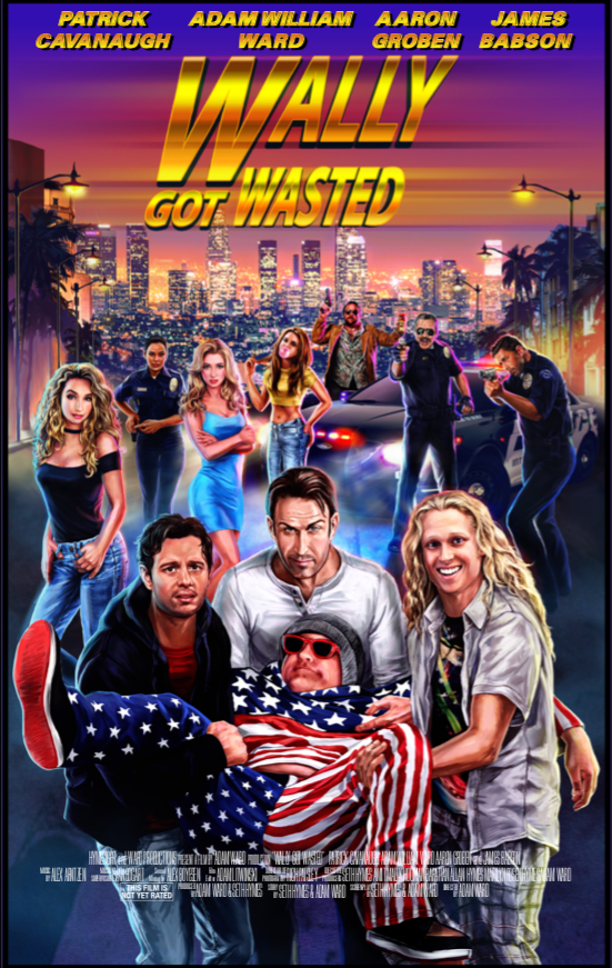 Wally Got Wasted Official Poster